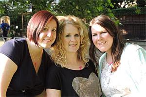 Hazel, Nancy and Helen