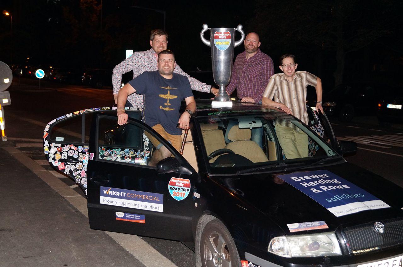 3 idiots cup car