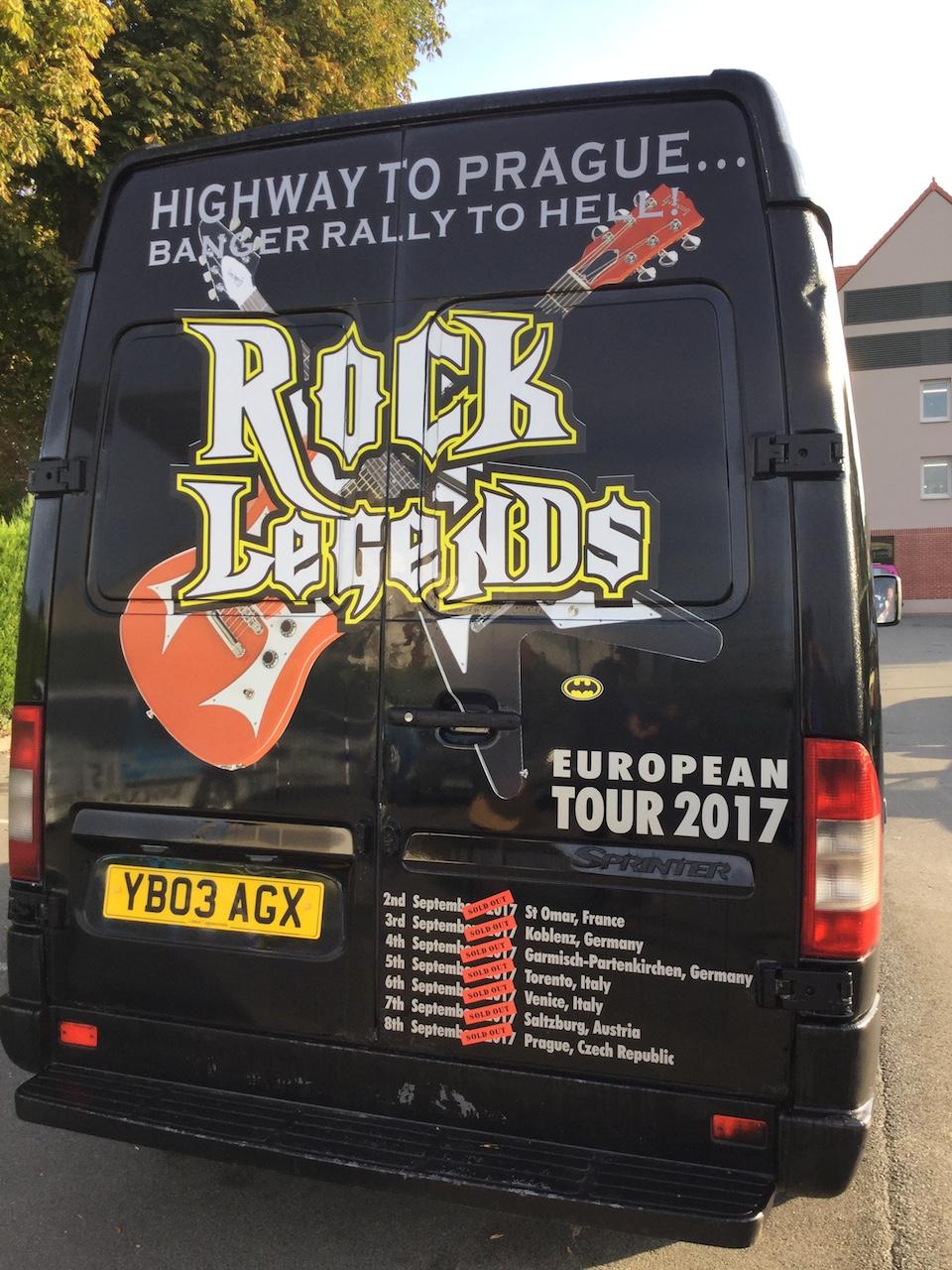Rock Legends van