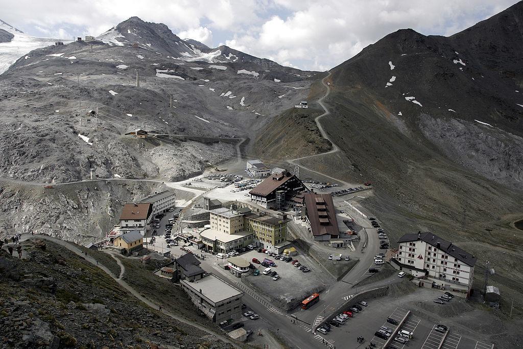 Stelvio pass summit