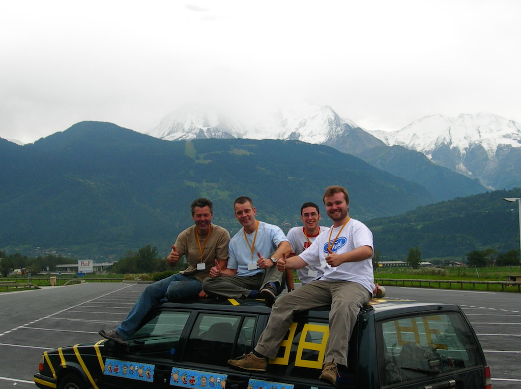 Students get lift in European rally