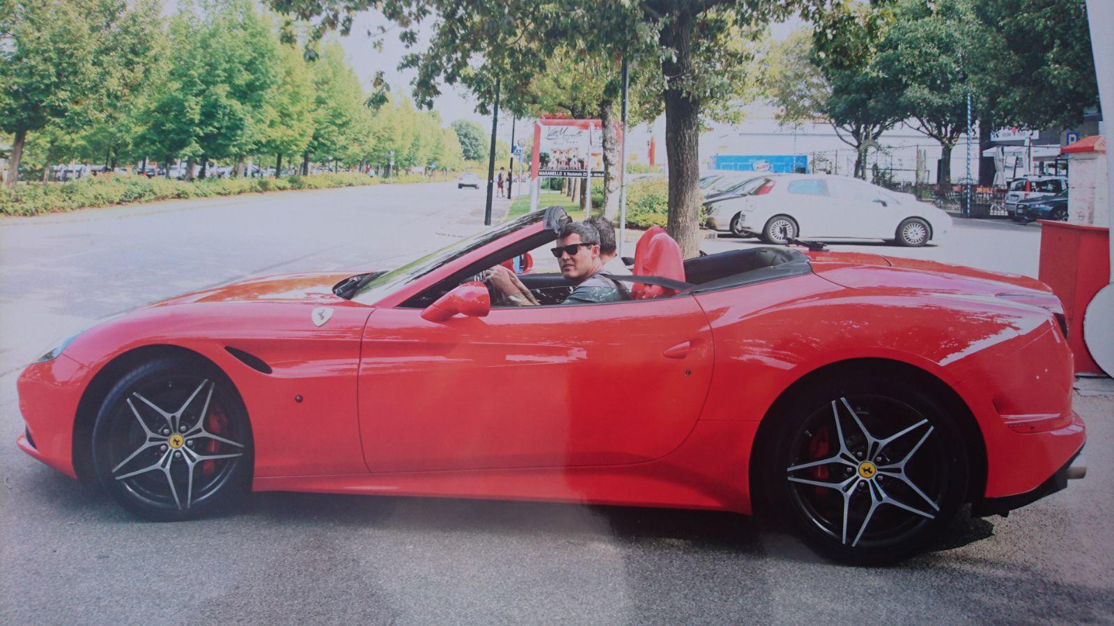 Team Goose Ferrari