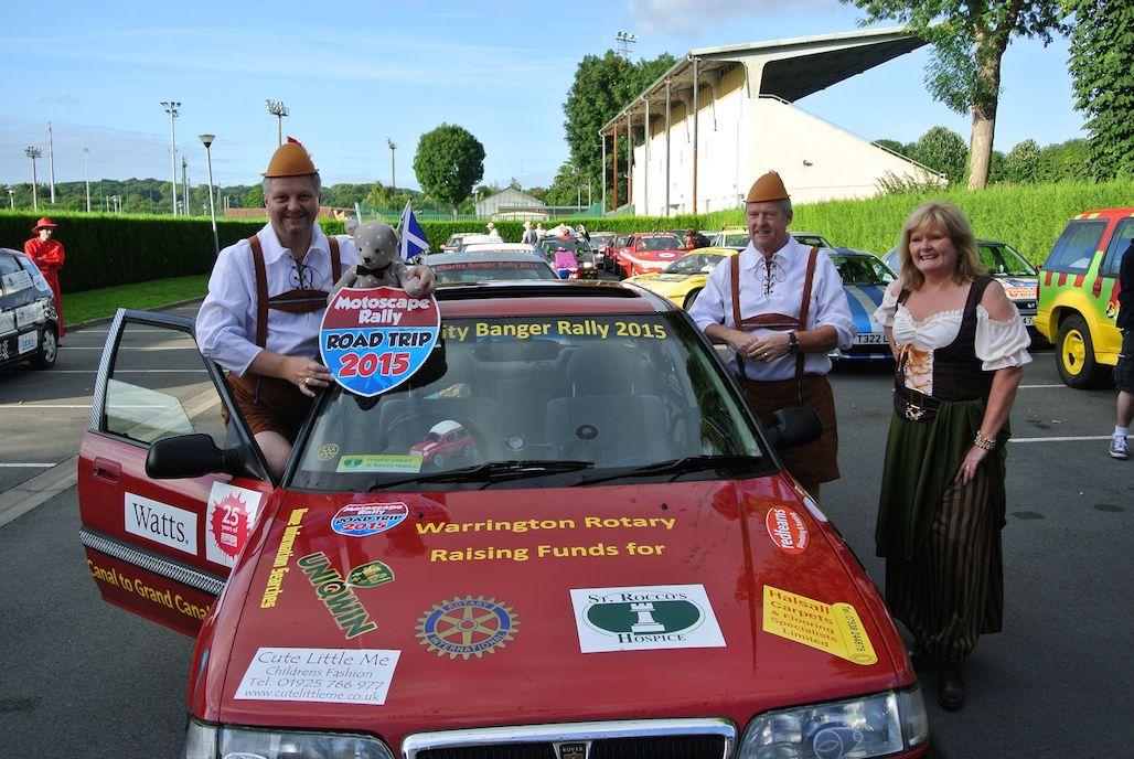 Warrington Rotary team 1
