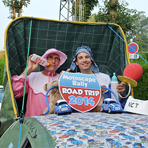 Wooton Babes on a road trip across Europe