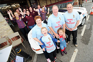 Frome couple drive around Europe in memory of Ben Halford