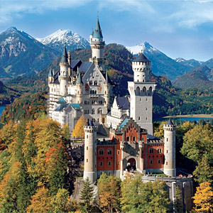 Visit Neuschwanstein castle on day 3 of our road trip through Europe